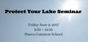 protect your lake seminar