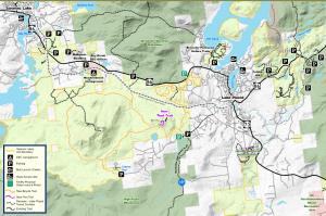 saranac lake ump trails and parking
