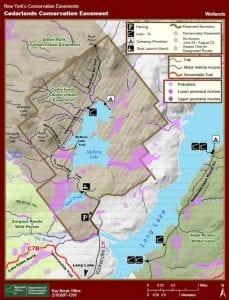 Cedarlands Easement