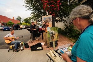 """Painting the Town"" in Saranac Lake"