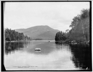 1902 Blue Mt from Eagle Lake