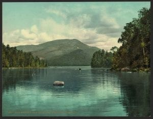 1902 Blue Mt from Eagle Lake color