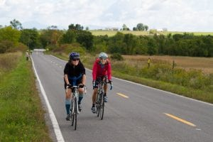 Bike the Barns participants cycle through Essex area farmland