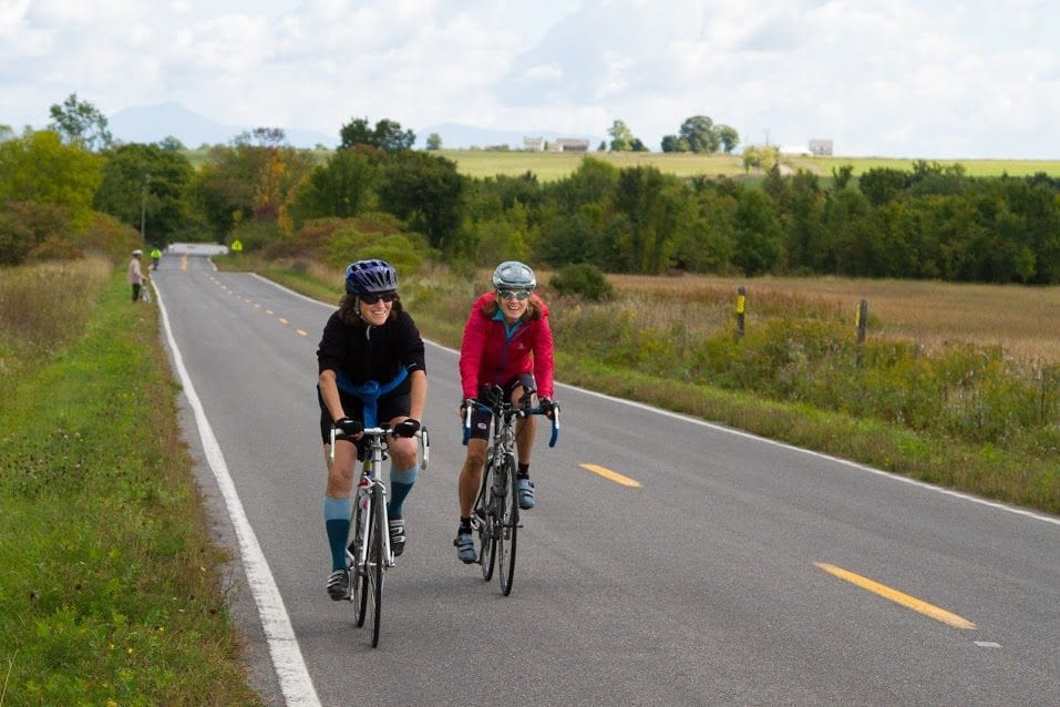 Bike the Barns participants cycle through Essex area farmland