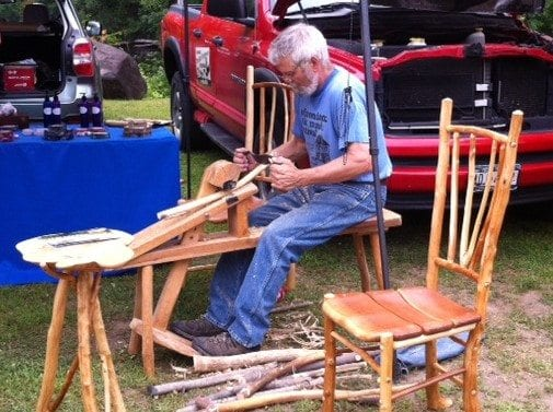 Barry Gregson at Adirondack Riverfront Arts Festival
