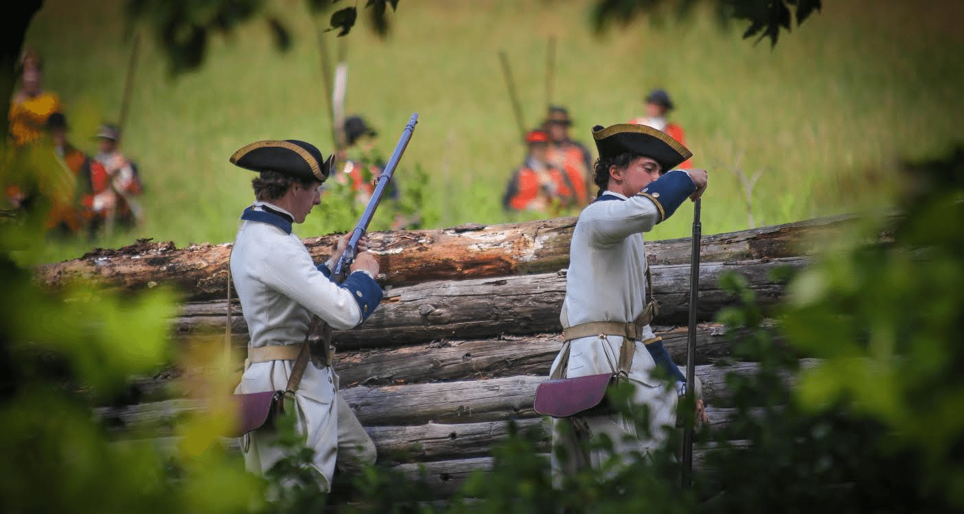 Fort Ticonderoga Recreates the Epic 1758 Battle of Carillon: Montcalm's Cross