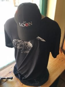 Loon-wear at the newly opened Adirondack Center for Loon Conservation