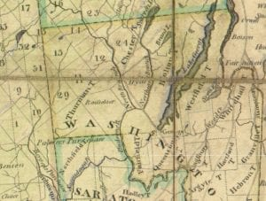 Loon Lake - Johnsburg Area in 1805
