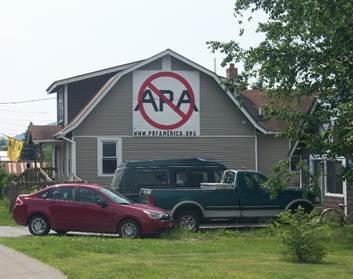 anti-APA sign in Warrensburg