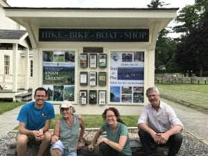 new kiosk in Essex is celebrated by some of those who worked on the project