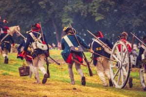 Brown's Raid 1777 Battle Re-enactment