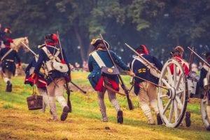Brown's Raid 1777 Battle Re-enactment