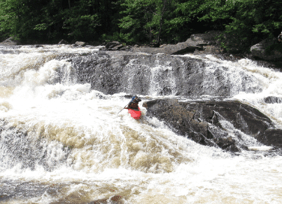 Expert Kayaking at Stone Valley