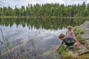 Gabe and Annaleigh Heilman discover the beauty of Pole Hill Pond