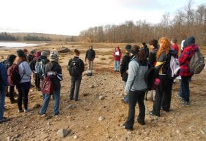 Guided walk with Mary Jane