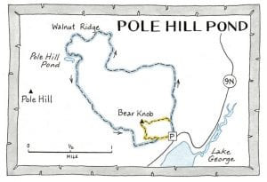 pole hill pond map