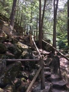 stone bridge walkway