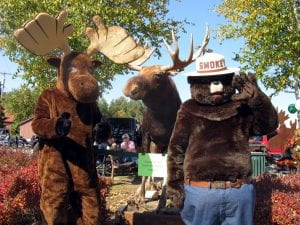 Bruce, Smokey Moose