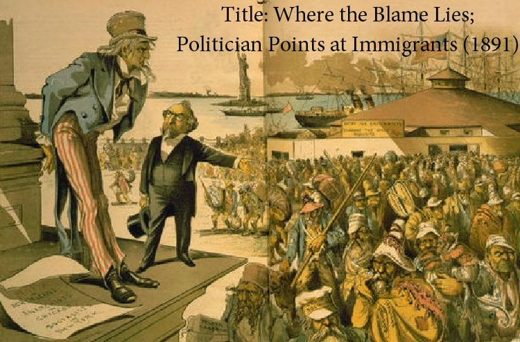 Immigration Where The Blame Lies