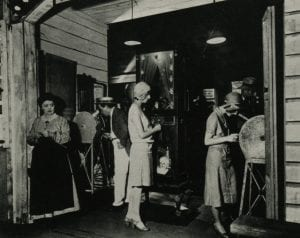 Nickelodeon store show 1920s, main entrance courtesy Women Film Pioneers Project