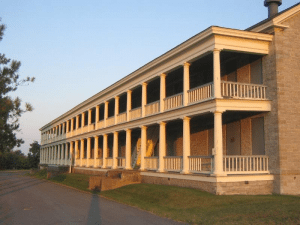 Old Stone Barracks now the Valcour Brewing Company