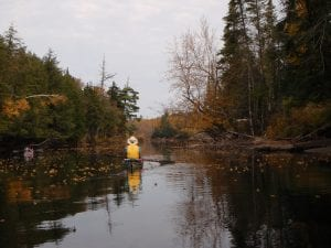 Paddling the Raquette River Axton to Tupper Lake 2008