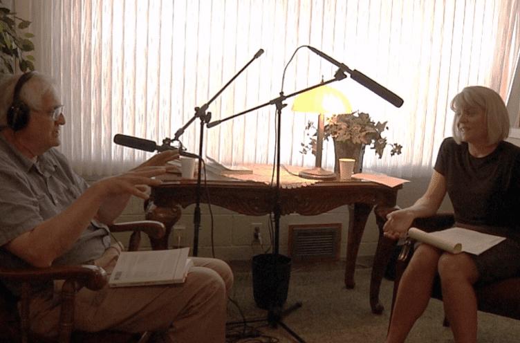 Zahavi interviewing McDonald