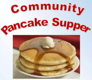community pancake supper