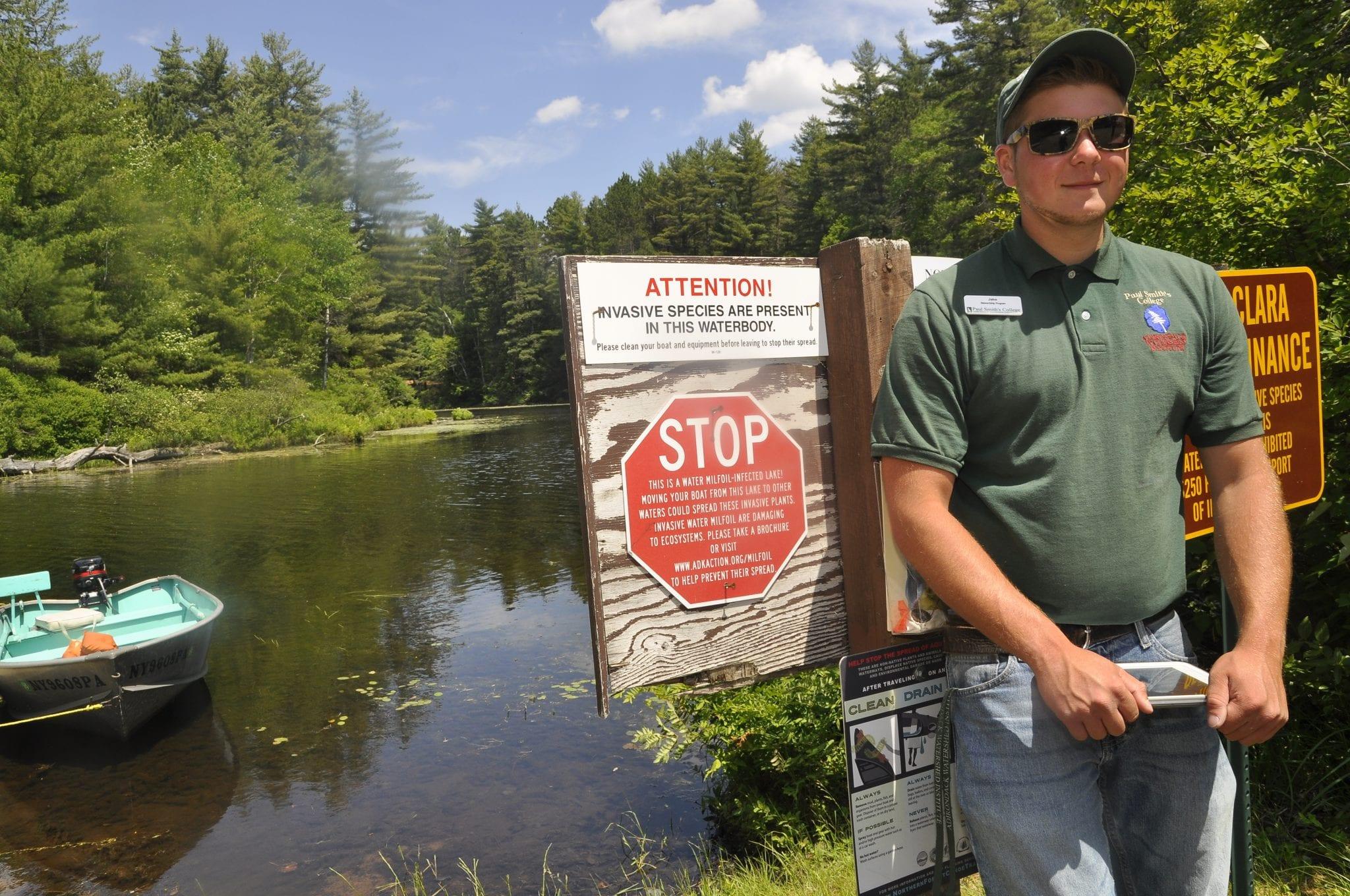 Adirondack Watershed Institute steward