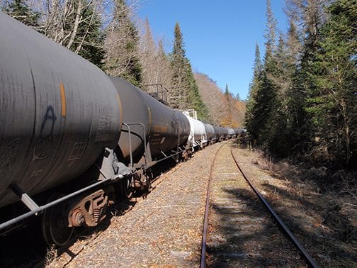 First Oil Tanker Rail Cars Moved Into Adirondack Forest Preserve