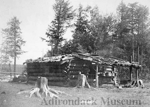 An early Adirondack trapper's cabin