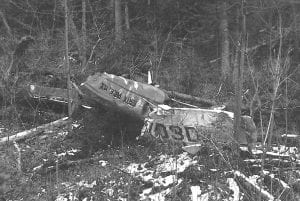 Julian Reiss Airplane Wreckage (Peter Reiss Photo)