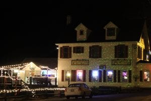 Long Lake Diner - Winner Business Lights Contest 2016