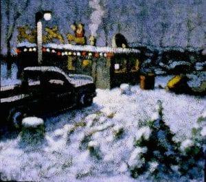 Christmas Eve (The Nativity) acrylic 19x22 1994