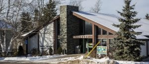 Goff-Nelson Memorial Library in Tupper Lake