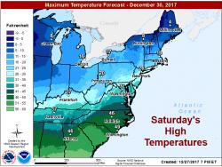 Freezing Winter Adirondack Temperatures