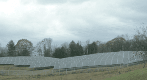 whitehall solar array