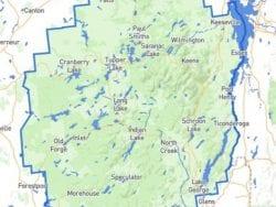 Adirondack Park Map