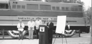 Opening of the Saratoga-North Creek Railroad, 2012