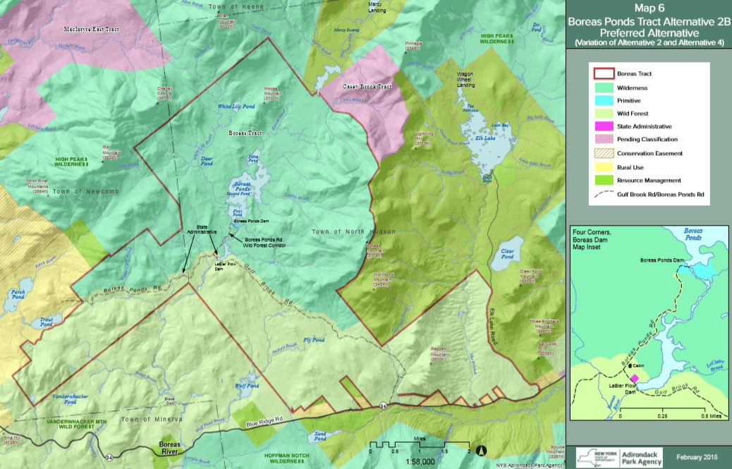 boreas ponds classification map