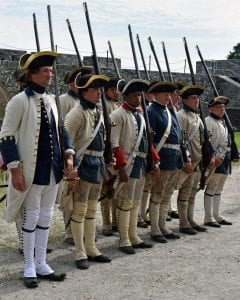 fort ticonderoga reenactment