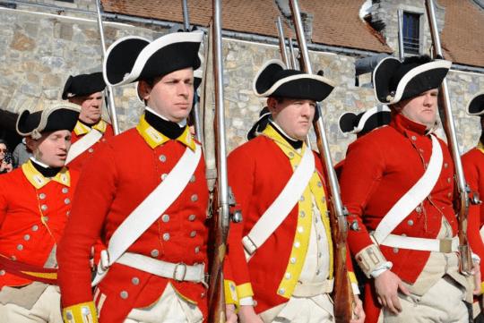 1775 British Garrison Living History Event