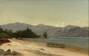 Study of Nature, Dresden, Lake George David Johnson (1827-1908) 1870 Oil on canvas