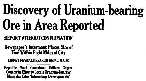 An Adirondack Uranium Rush - - The Adirondack Almanack