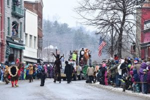 2017 Winter Carnival Parade Marchers
