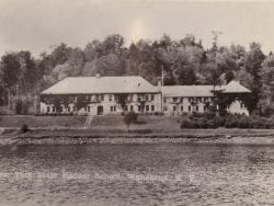 Ranger School, as seen from Cranberry Lake