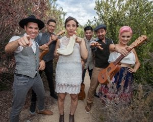 Las Cafeteras photo by Rafael Cardenas