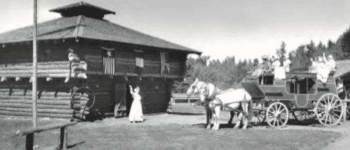 Frontier Town, North Hudson, circa 1956