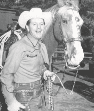 Ghost Town's Sheriff Wild Windy Bill McKay, circa 1961
