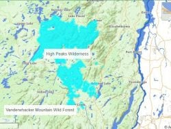 high peaks and vanderwhacker map